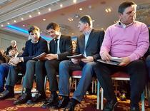 Marius Lacatus, Stefan Iovan, Cristi Chivu si Victor Piturca