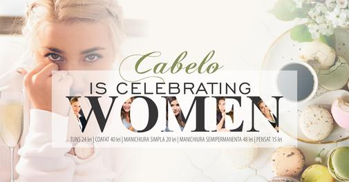 Cabelo is celebrating women II
