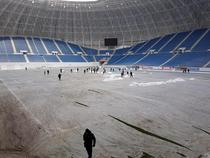 Zapada pe stadionul Ion Oblemenco