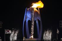 Flacara Olimpica de la JO 2018