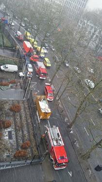 Alerta cu antrax la Bruxelles
