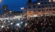 Protest de amploare la Bratislava
