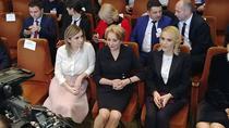 Iubita lui Liviu Dragnea, Irina Tanase (st.), la Congresul PSD