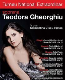 Turneu de recitaluri Teodora Gheorghiu