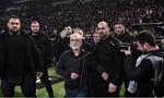 Ivan Savvidis (centru), patronul celor de la PAOK
