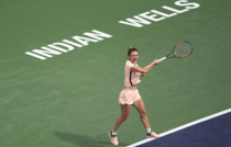 Simona Halep, la Indian Wells