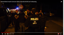Control de frontiera reintrodus la Freilassing septembrie 2015