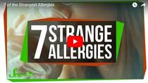 Top 7 cele mai ciudate alergii