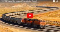Top 10 cele mai lungi trenuri din lume