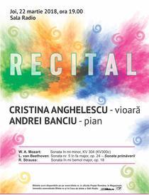 Recital de vioara si pian