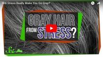 Care este legatura dintre stres si aparitia firelor albe de par