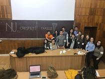 Protest al studentilor, la Sibiu