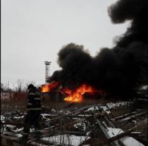 incendiu rezervor pacura