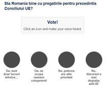 Sondaj presedintia Consiliului UE