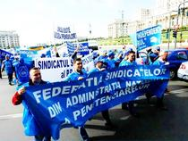 Protest FNSAP