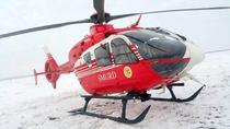 Elicopter SMURD, interventie in Fagaras