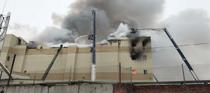Incendiu la un centru comercial din Rusia