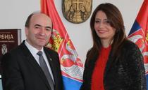 Tudorel Toader si ministrul sarb al Justitiei, Nela Kuburovic