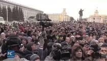 Protest spontan la Kemerovo