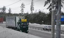 Autostrada electrica din Suedia