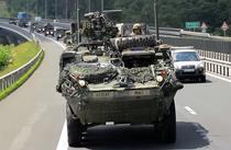 Convoi militar NATO