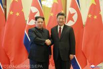 Kim Jong-un si Xi Jinping