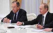 Serghei Lavrov si Vladimir Putin