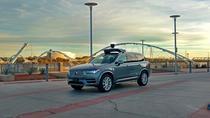 Model Volvo modificat de Uber