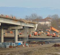 Autostrada Lugoj-Deva. Lucrari pe lotul 4