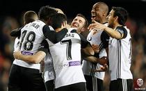 Bucuria jucatorilor Valenciei