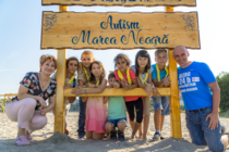 Plaja din Mamaia pentru copii cu autism