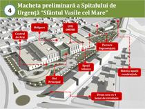 Macheta Spital Urgenta Sf. Vasile
