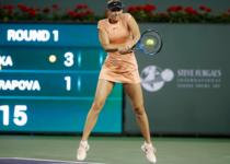 Maria Sharapova, la IW