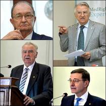 Bogdan Simionescu, Victor Voicu, Ioan Aurel Pop si Cristian Hera