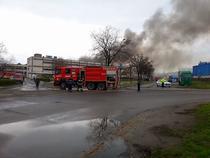 Incendiu fabrica UAMT Oradea