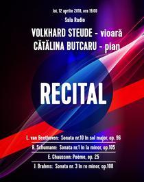 Recital Volkhard Steude - Catalina Butcaru