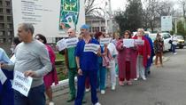 Protest la Institutul Marius Nasta