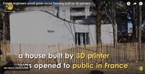 Casa printata 3D Franta