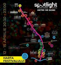 Harta festivalului SPOTLIGHT