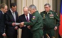 Bashar al-Assad si Vladimir Putin