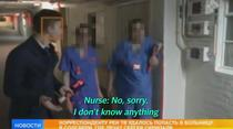 Postul rus REN TV, in spitalul din Salisbury