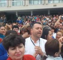 Protest la Spitalul Craiova