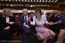 Liviu Dragnea si Irina Tanase, la congresul PSD