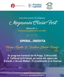 Opera Inedita... la Palatul Mogosoaia