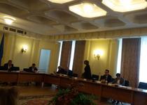 Imagine din sedinta de marti a Comisiei