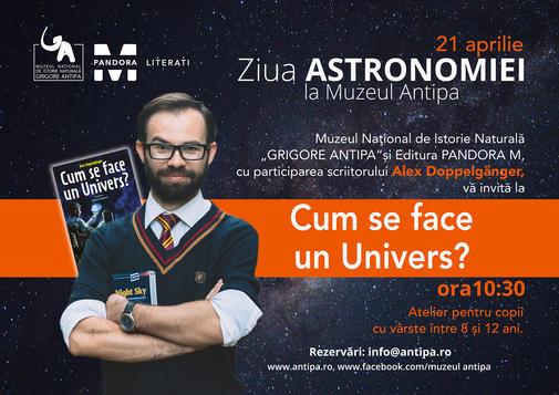 Ziua Astronomiei, la Antipa