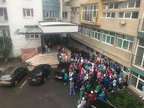 Protest la Institutul Inimii din Cluj