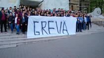Protest al studentilor de la Iasi