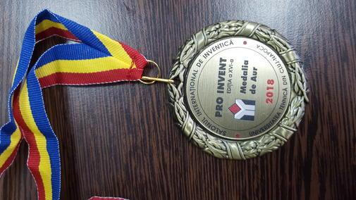 Medalia aur 2018