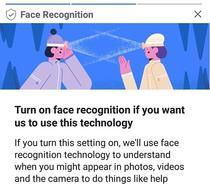 Facebook te intreaba despre recunoasterea faciala